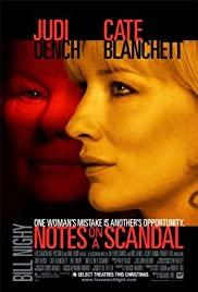 Notes on a Scandal (2006) บันทึกฉาวรักอันตราย