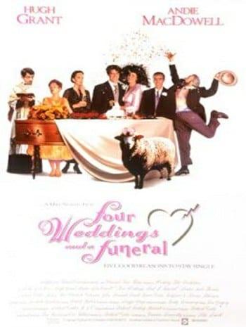 Four Weddings and a Funeral (1994) ไปงานแต่งงาน 4 ครั้ง หัวใจนั่งเฉยไม่ได้แล้ว
